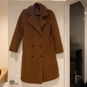 Forever 21 Teddy Bear Trench Cot